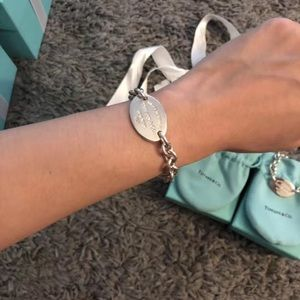 Brand New Tiffany &Co silver bracelet
